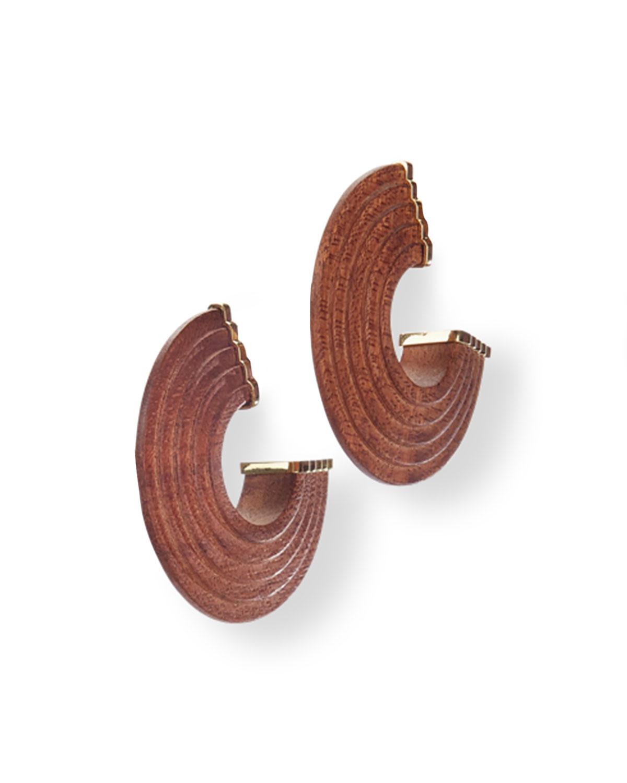 Nava C-Hoop Earrings