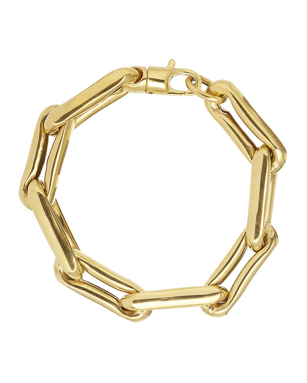 14k Extra-Large Chain-Link Bracelet