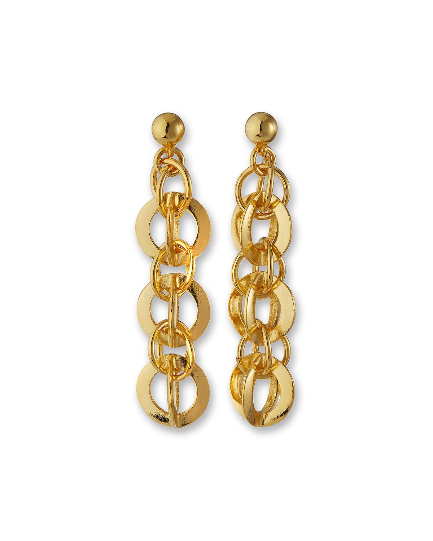 Multi Circle-Link Earrings