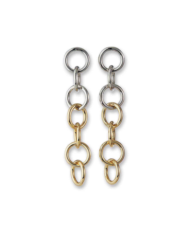 Multi Circle-Drop Earrings