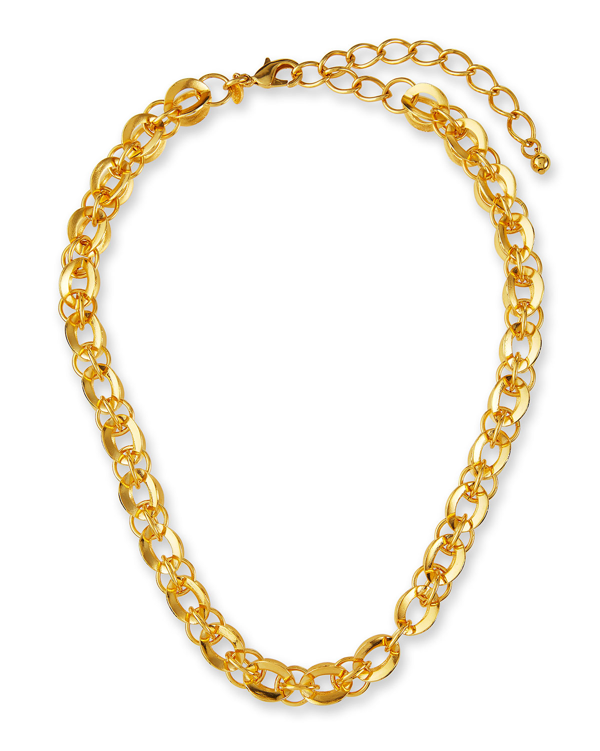 Multi-Link Chain Necklace