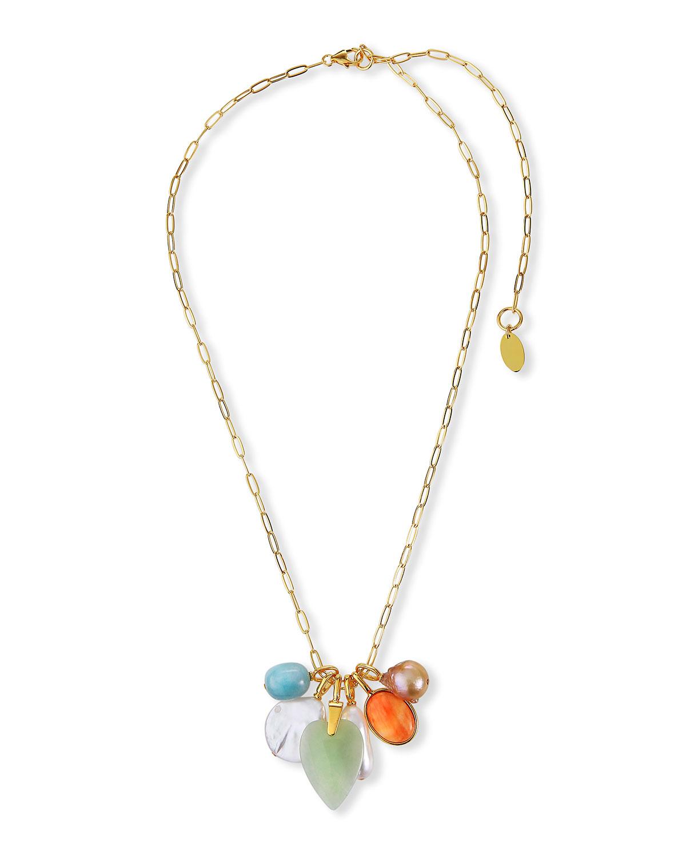 Serpentine Charm Necklace