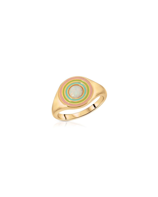 Chroma Rainbow Signet Ring