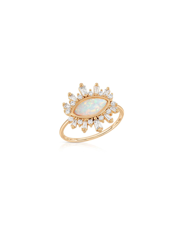 Athena CZ Stone Ring