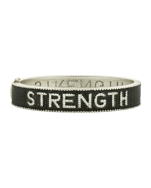 Strength Bangle Bracelet