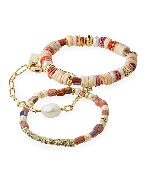 Eshe Chain and Stretch Bracelets