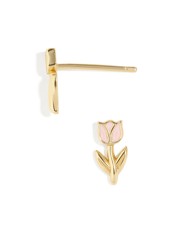 April 18K Gold Vermeil Earrings
