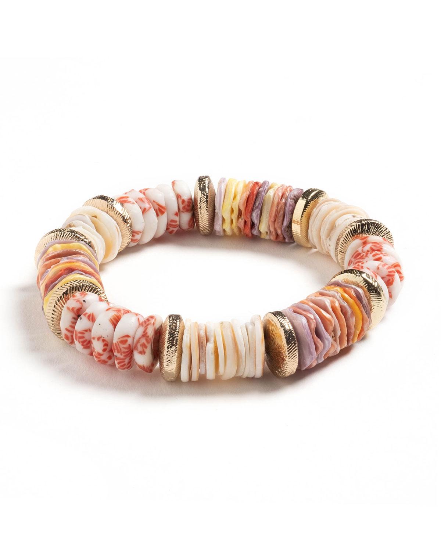 Elora Bead Stretch Bracelet