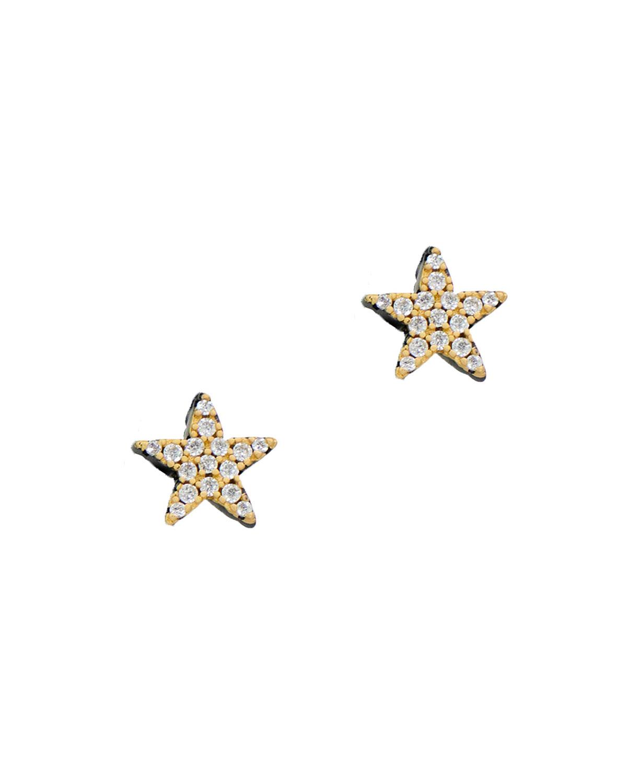 West Point Star Stud Earrings