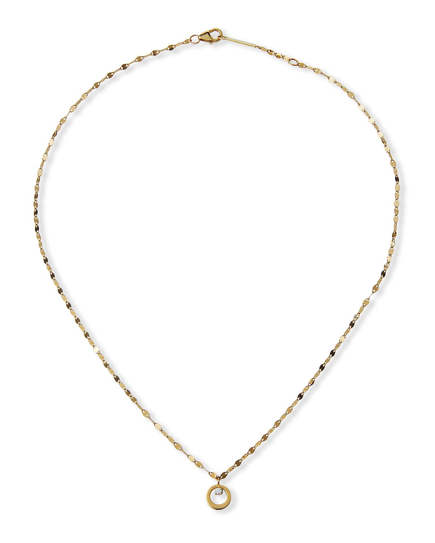 Solo Mini Bond Pendant Necklace