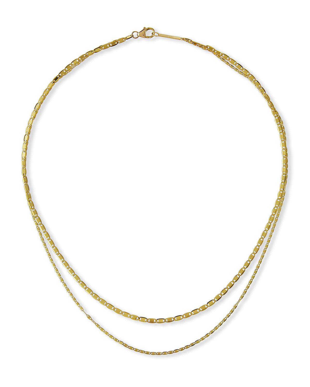 Malibu and Petite Malibu Double-Strand Necklace