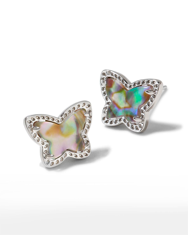 Lillia Butterfly Stud Earrings