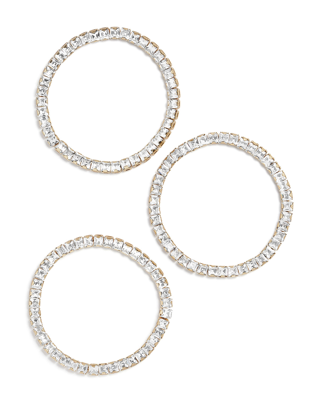 Cristallo Square Gemstone Bracelets