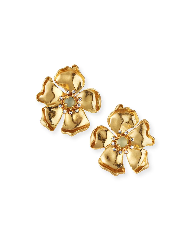 Elodie Floral Stud Earrings