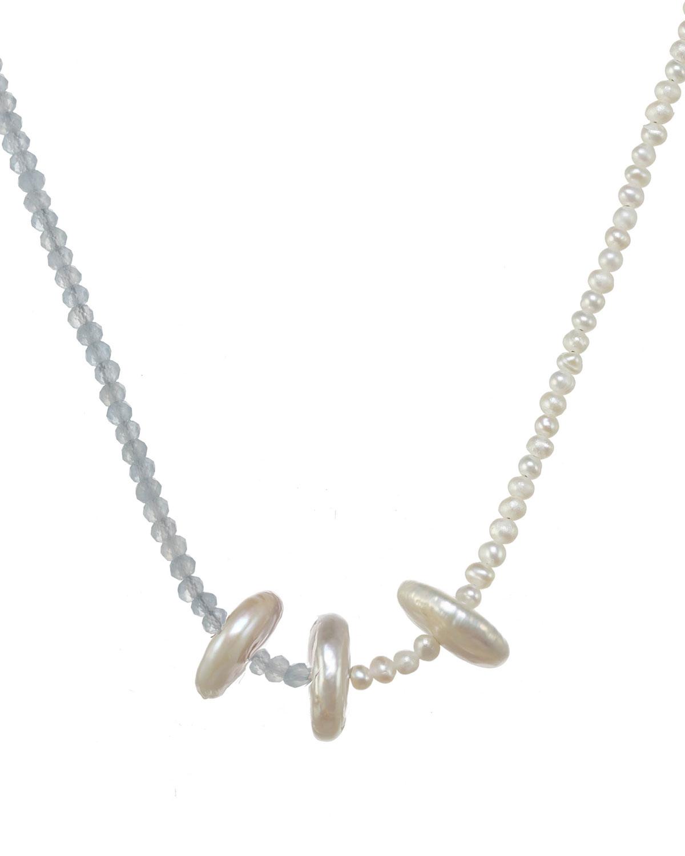 Elodie Aqua Necklace