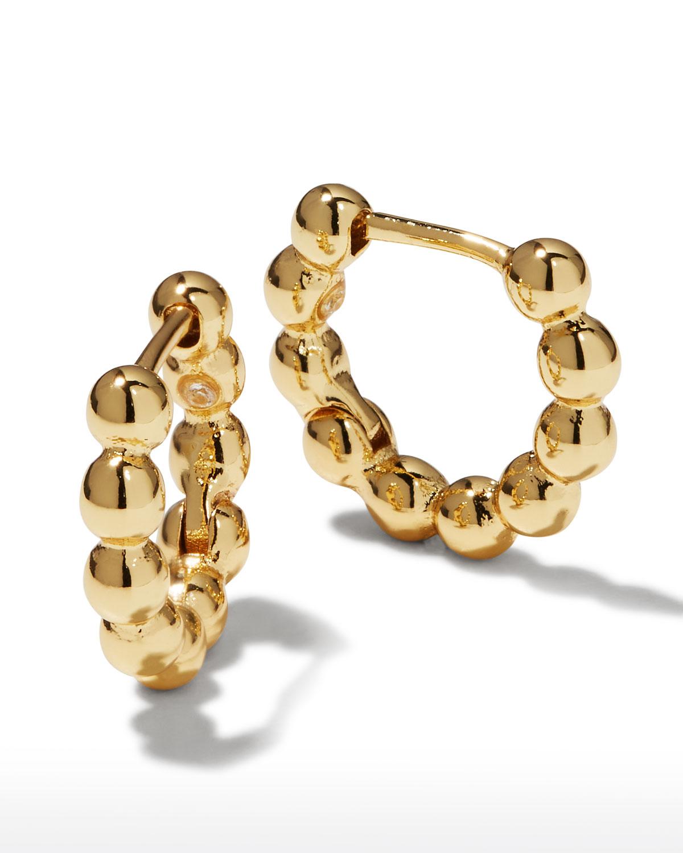 Pisa Huggie Hoop Earrings
