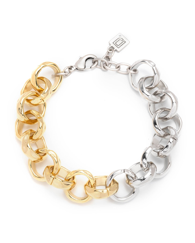 Vegas Two-Tone Link Bracelet