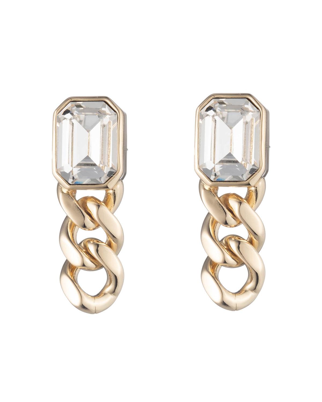 Krome Chain Link Drop Earrings