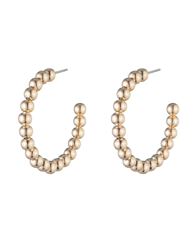 Biscayne Bauble Hoop Earrings