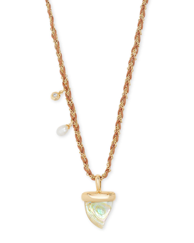 Oleana Long Pendant Necklace