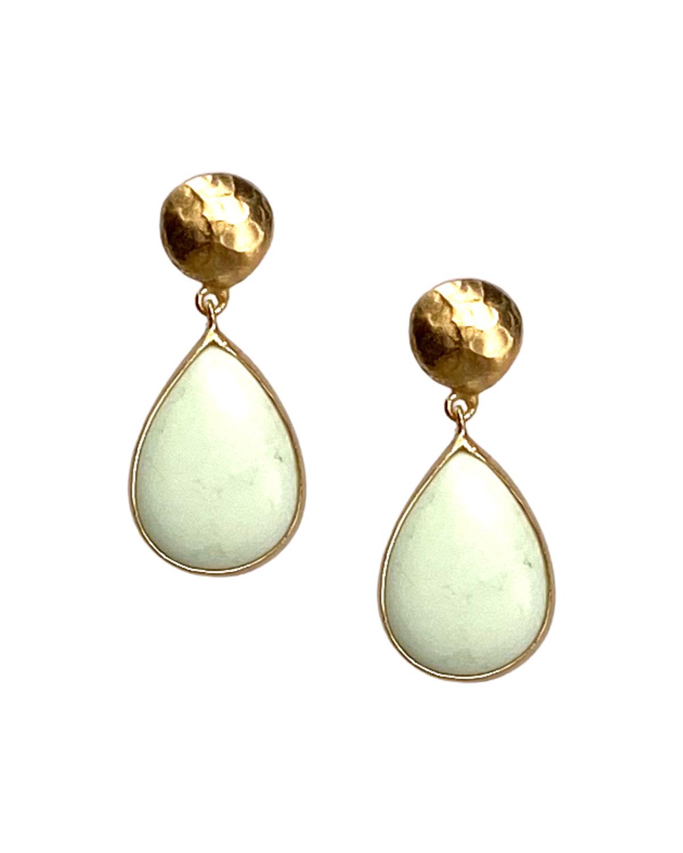 Lemon Chrysoprase Earrings