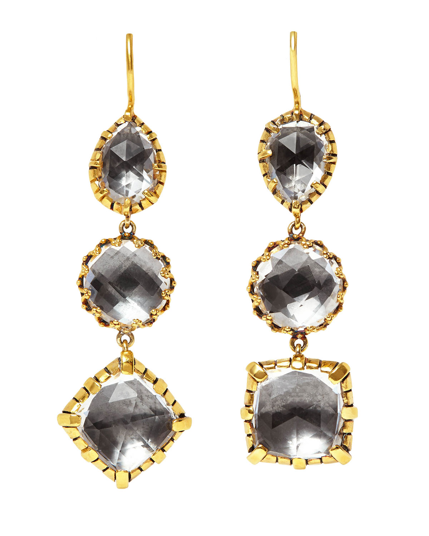 Sadie 3-Drop Earrings
