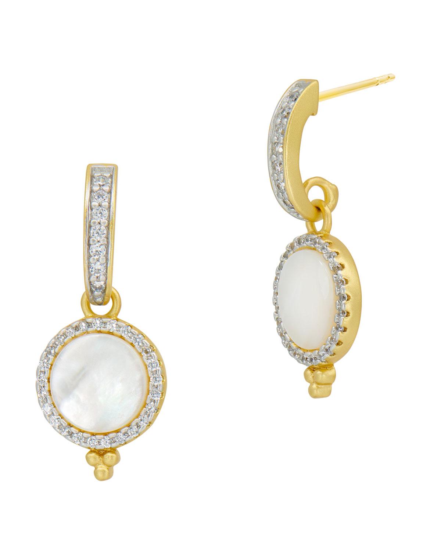 Glistening Drop Earrings