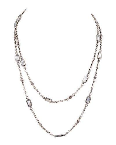 Hestia Rectangular Multi-Strand Necklace