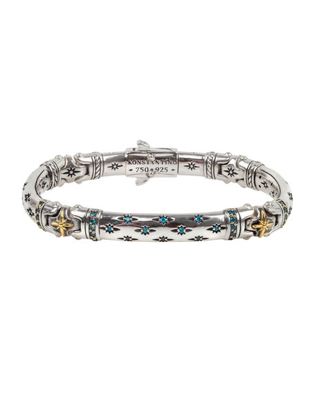 Konstantino Astria All-Around Blue Spinel Bracelet, Size S