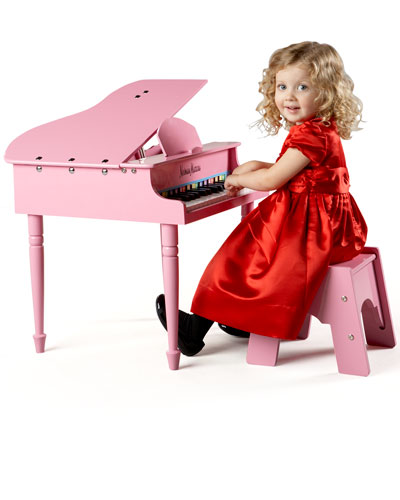 30Key Mini Grand Piano Pink