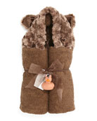 Swankie Blankie Hooded Bear Towel