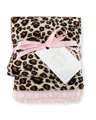 Cheetah Burp Cloth Set