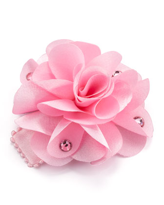 Feel Good Flower Small Clip, Light Pink