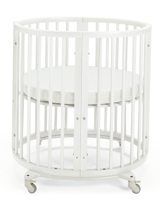 Sleepi Mini Baby Crib Bundle White