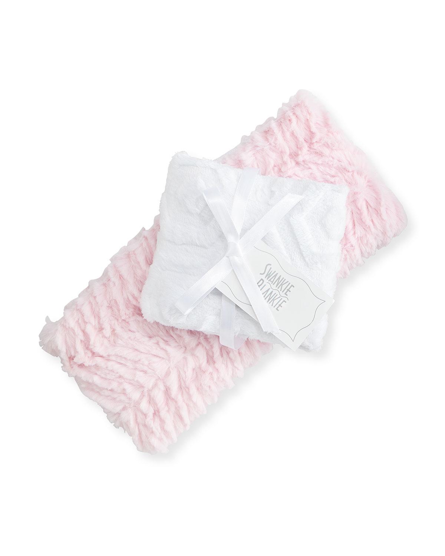 Ziggy Burp Cloth Set Pink