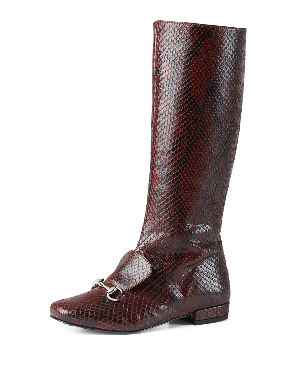Python Riding Boot, Bordeaux, Youth