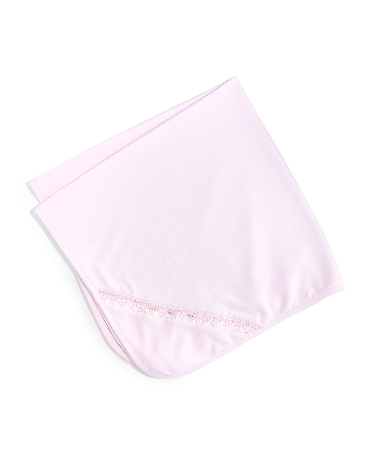 CLB Fall Bishop Pima Baby Blanket, Pink