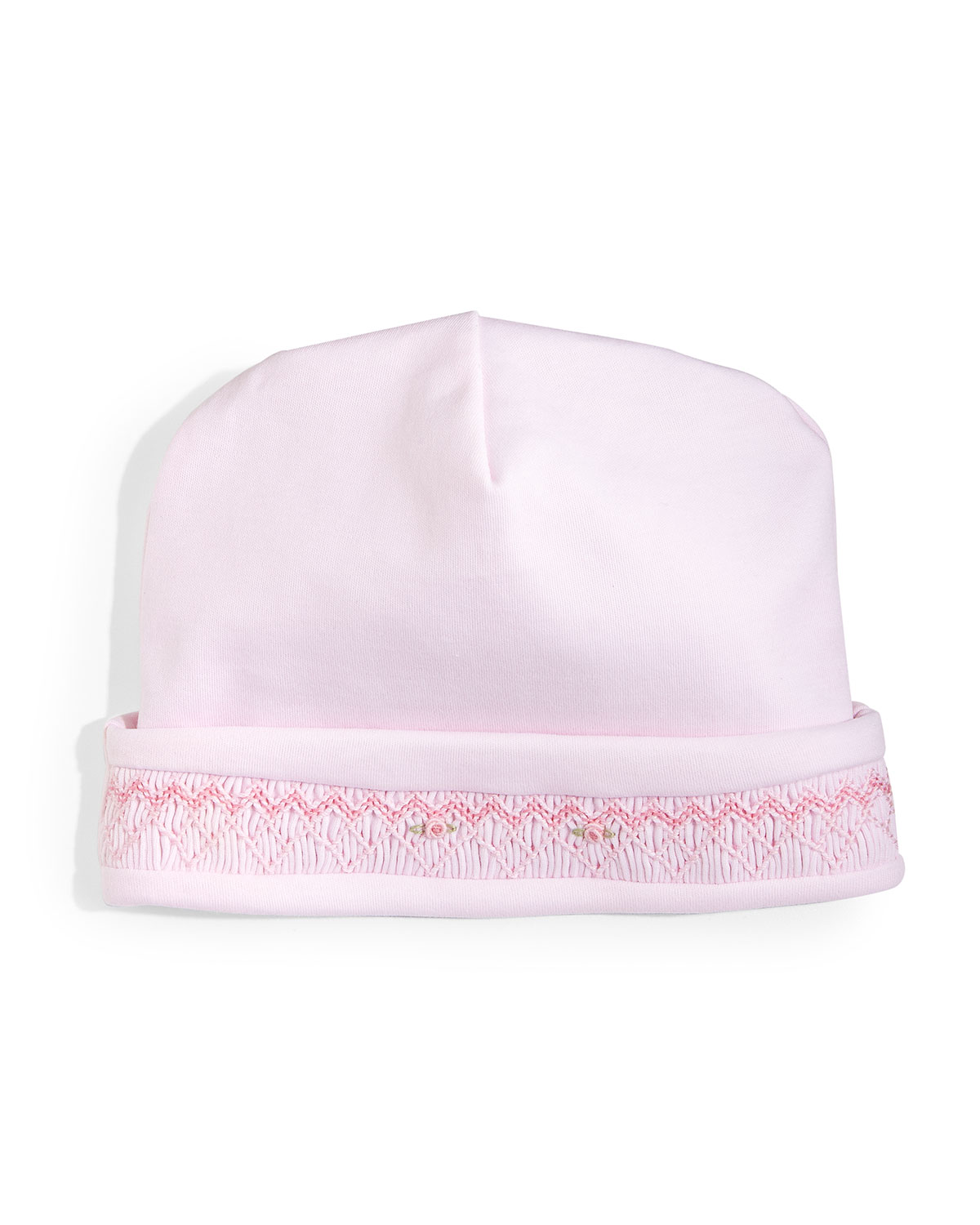 CLB Fall Bishop Pima Baby Hat, Pink