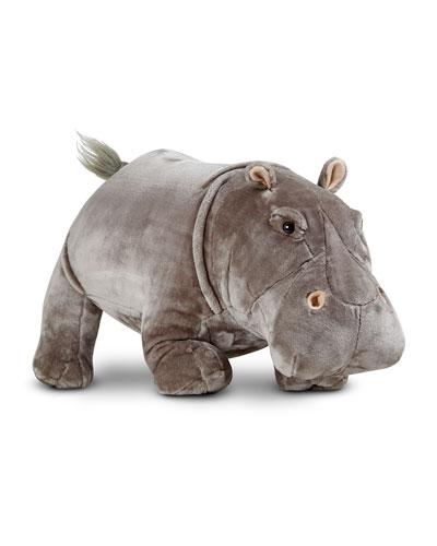 Melissa & Doug Plush Hippo Stuffed Animal