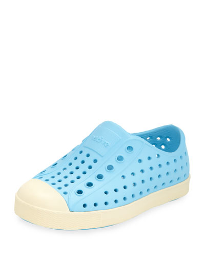 Jefferson Waterproof Low-Top Shoe, Surfer Blue, Youth