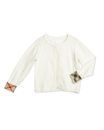 White Cotton Sweater | Neiman Marcus