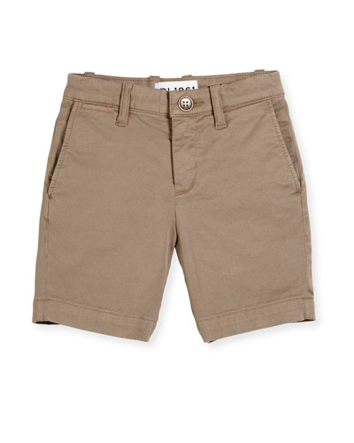 Jacob Stretch Chino Shorts, Cannon, Size 2-7