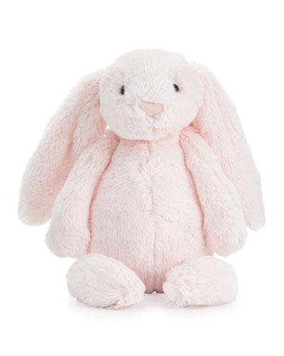 Plush Bashful Bunny Chime Stuffed Animal Pink