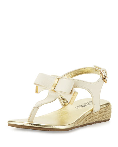 Perry Crysty Wedge Thong Sandal, Off White, Youth