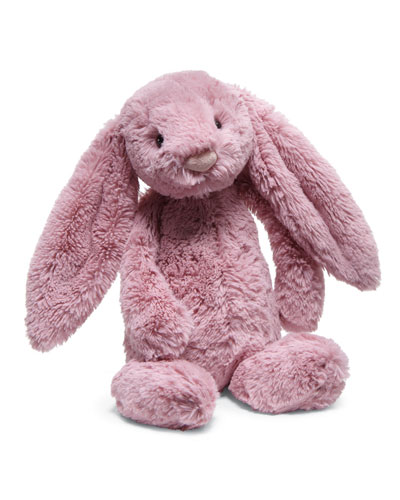Medium Bashful Bunny Stuffed Animal, Tulip Pink
