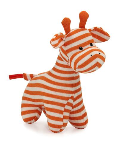 Geoffrey Giraffe Chime, Orange/Brown