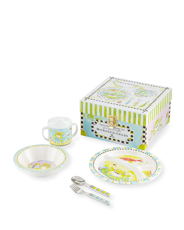 Boys' Frog Dinnerware Box Set