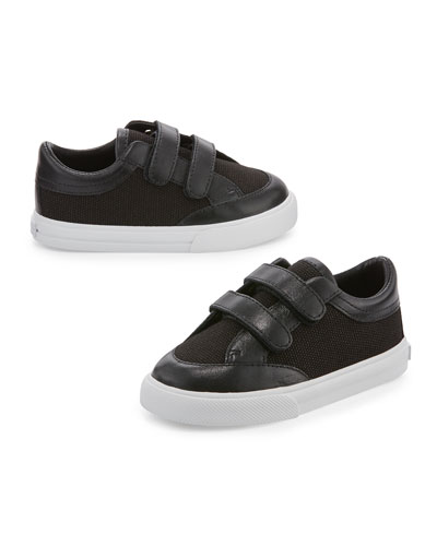 Heacham Solid Canvas Sneaker, Black, Infant