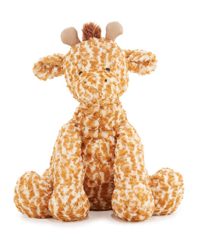 Jellycat Huge Fuddlewuddle Giraffe Stuffed Animal, Tan / cream