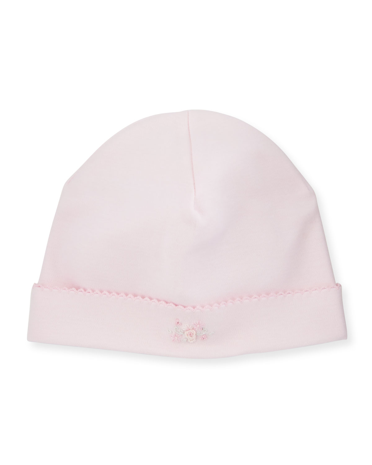 Fall Vines Pima Baby Hat, Pink